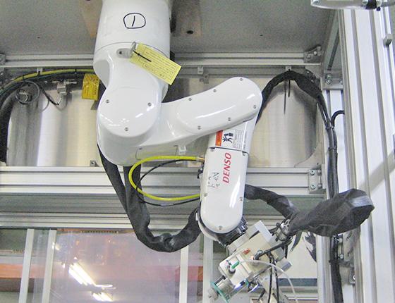 半田付けロボット